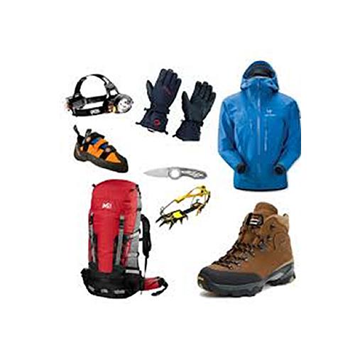 登山道具の販売・レンタル